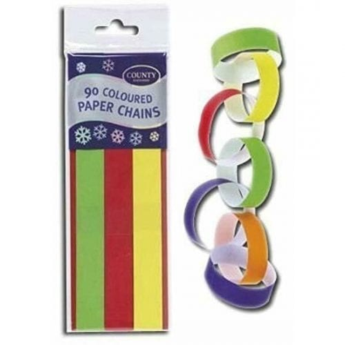 Coloured Bunting Paper Chains