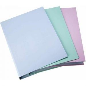 Pukka A4 Pastel Ring Binder Folder Pack of 3