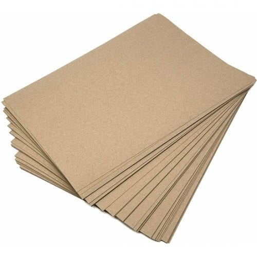 A4 Recycled Brown Kraft Paper