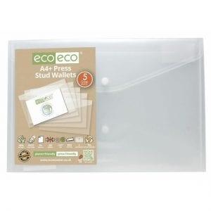 eco eco Press Stud Wallets A4 Plus