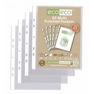 eco eco A5 Punched Pockets