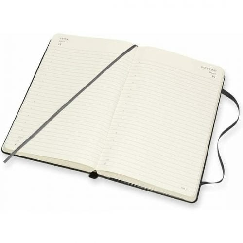 Moleskine Academic Diary A5 Daily Notebook Hard Cover