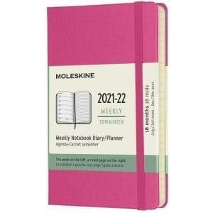Moleskine Academic Diary 2021-22 Pocket Week to View