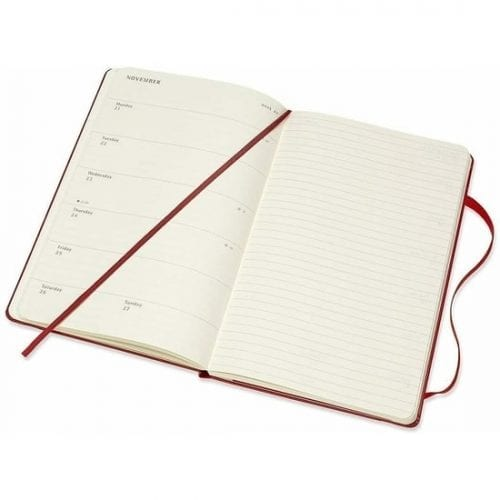 Moleskine Academic Diary 2021-22 A5 Week to View