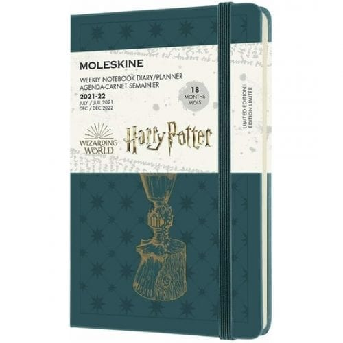 Moleskine Academic Diary A5 Week to View Harry Potter Hard Cover