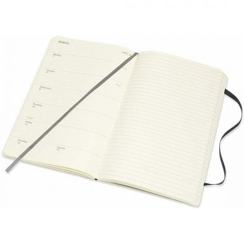 Moleskine Academic Diary A5 Week to View Soft Cover