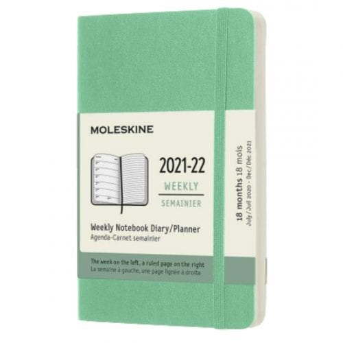 Moleskine Academic Diary Pocket Week to View Soft Cover