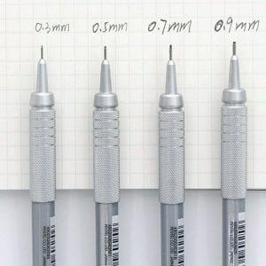 Pentel-GraphGear-500-Pencil-draw