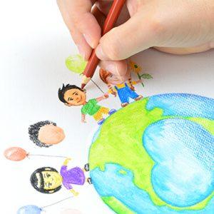 Pentel Watercolour Pencils lifestyle