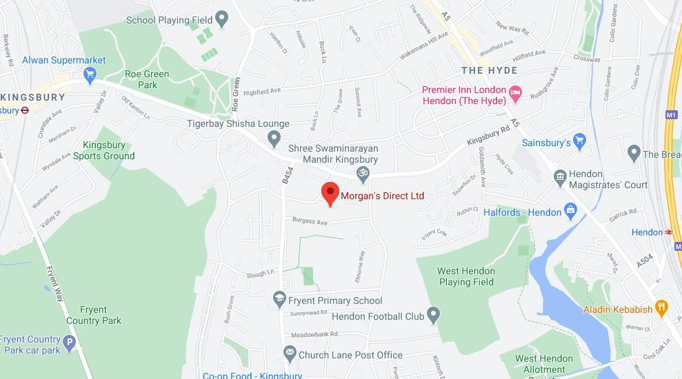 Morgan's Direct Map Location