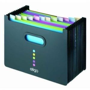 Snopake Eligo A4 Expanding Desk File Organiser