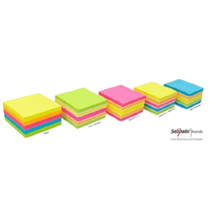 Snopake Neon Sticky Notes Extra Strong Post It