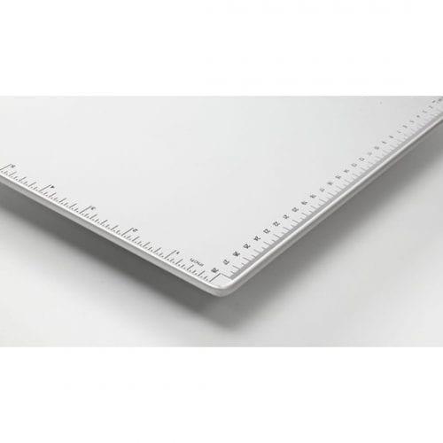 Snopake A4 Silver Metallic Clipboard Measurement Guide