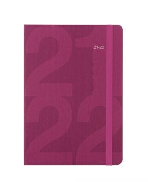 Block-A5-Week-to-View-Diary-Pink