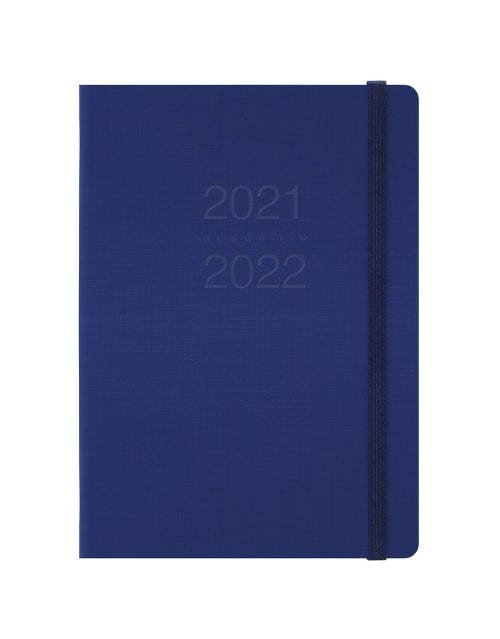 Letts-Memo-A5-Academic-Diary-Day-A-Page-Blue