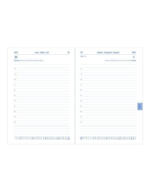 Letts-Memo-A5-Academic-Diary-Day-A-Page-Inside