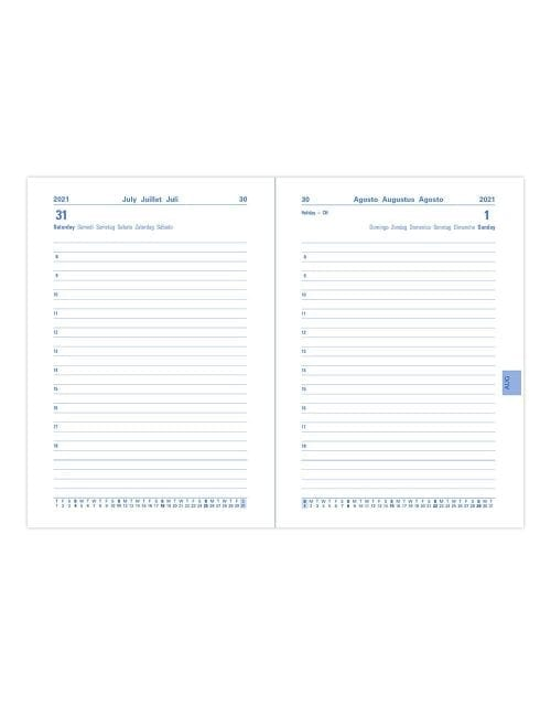 Letts-Memo-A6-Diary-Day-A-Page-Inside