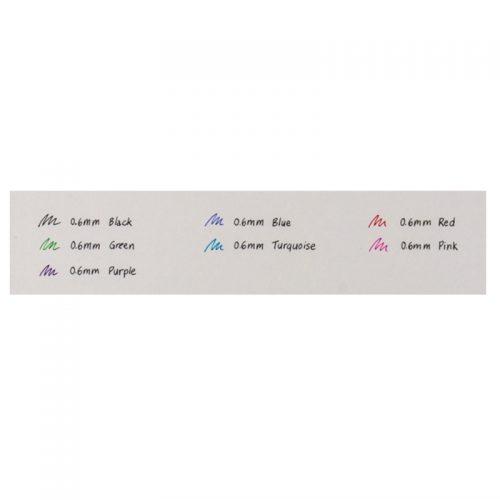 Zebra-Fountain-Pen-Color-Chart