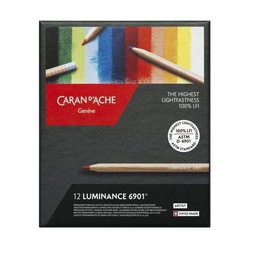 Caran-d'Ache-Luminance-6901-12-set