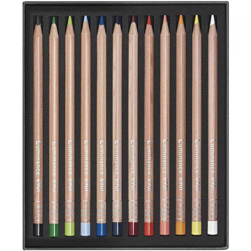 Caran-d'Ache-Luminance-6901-12-set-pencils