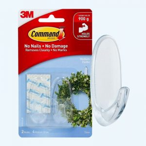 Command-Medium-Clear-Hooks-With-Strips-17091CLR