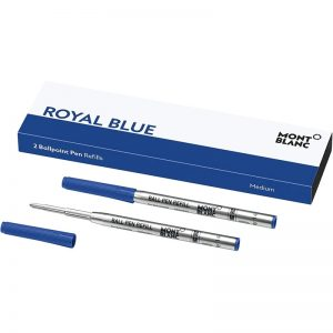 Montblanc-Rollerball-Refill-Set-of-2-Medium-Royal-Blue-124493