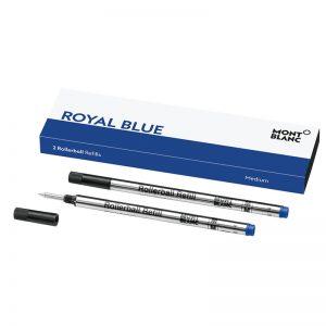 Montblanc-Rollerball-Refill-Set-of-2-Medium-Royal-Blue-124504