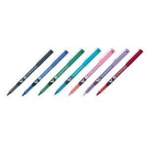 Pilot-V5-Hi-Tecpoint-Rollerball-Pen-Extra-Fine-Multi-Main-Image