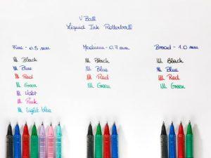Pilot-VBall-07-Rollerball-Pen-BLVB7-Multi-image-alt