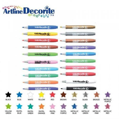 artline-decorite-marker-bullet-tip-1mm-full-chart