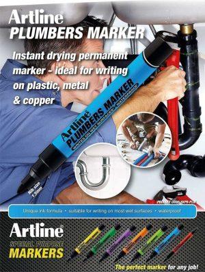 Artline Plumbers Marker Pen EKPR-info