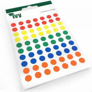 Ivy Assorted Colour Sticky Dots-alt