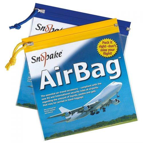 Snopake Airport Clear Travel Bags-main