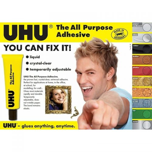 UHU All Purpose Adhesive Glue-info