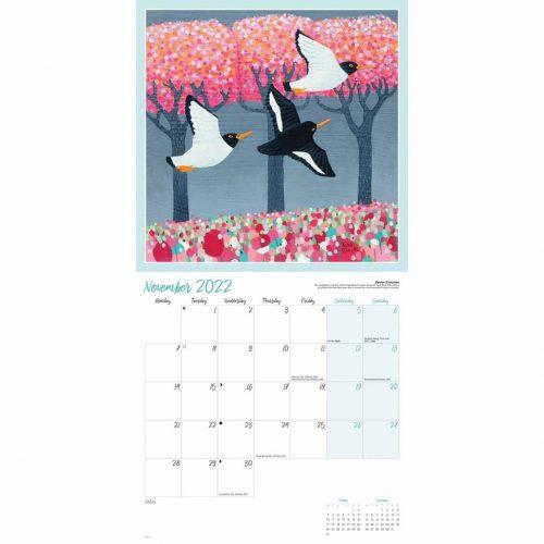 Ailsa Black Calendar 2022-inside