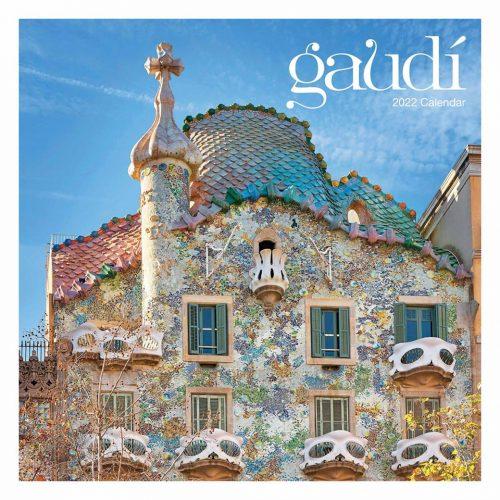Antoni Gaudi Calendar 2022-front