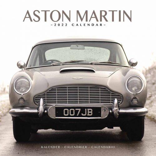 Aston Martin Calendar 2022-front