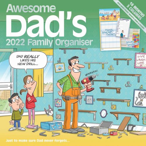 Awesome Dads Family Planner 2022-front