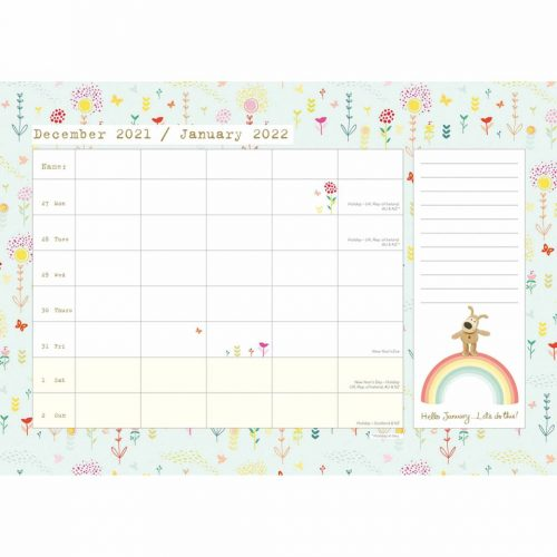 Boofle A4 Family Planner 2022-inside