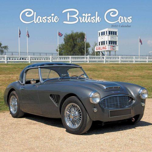 Classic British Cars Calendar 2022-front