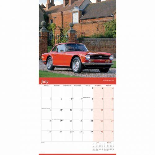 Classic British Cars Calendar 2022-inside