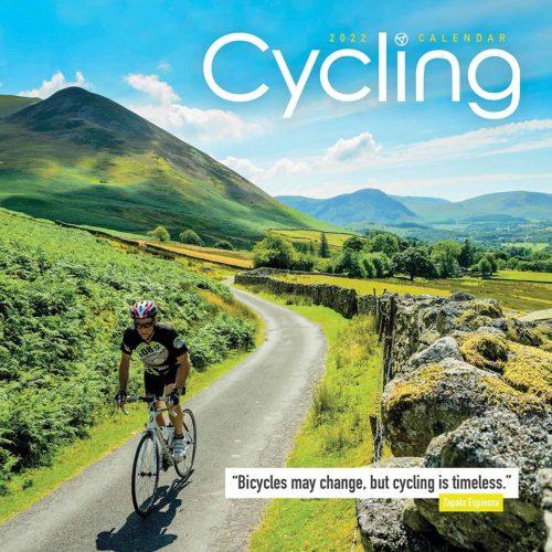 Cycling Calendar 2022-front