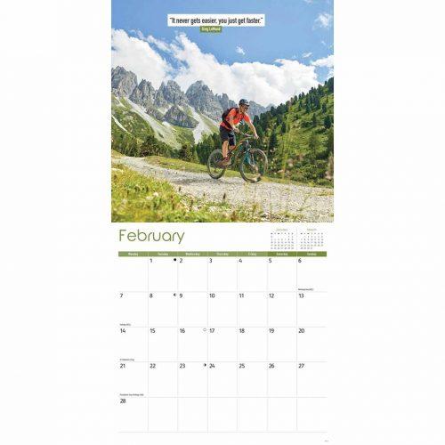 Cycling Calendar 2022-inside