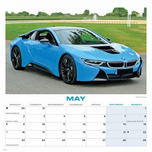 Dream Cars Calendar 2022-inside