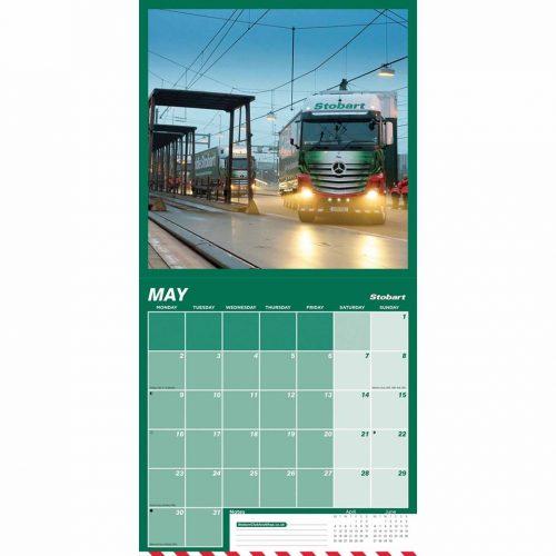 Eddie Stobart Calendar 2022-inside