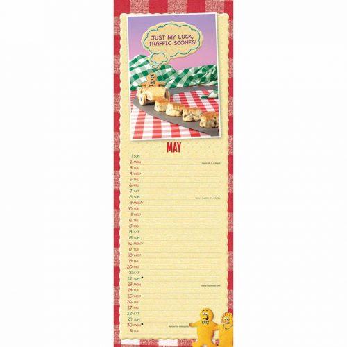 Fred & Ginger Slim Calendar 2022-inside