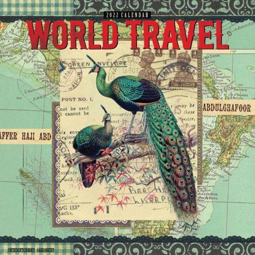 Gwen Trolez Vintage World Travel Calendar 2022-front