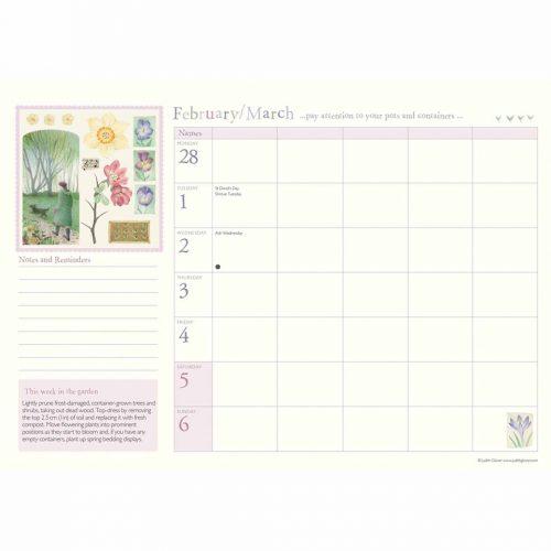 Judith Glover, Garden Days A4 Family Planner 2022-inside
