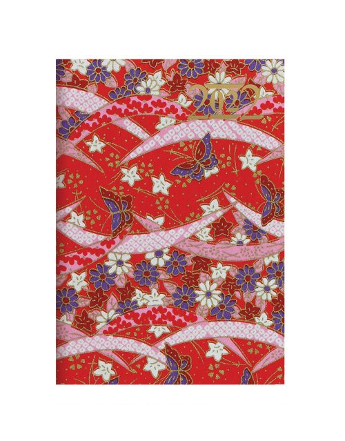 Letts Japanese Paper A5 Week to View Diary 2022 Red-front
