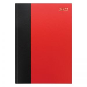 Letts Standard A4 Day to Two Pages Diary 2022-front